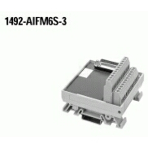 Allen-Bradley 1492-AIFM6S-3 Wiring Module, 6 Channel Isolated, 3 - 4 Terminals per Channel