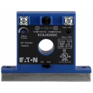 Eaton ECSJ406SC Current Switch, 1-175 Amp