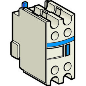 Square D LADN11 Auxiliary Contact Block, F-Line Reversing Contactor, LA1, 1NO/1NC