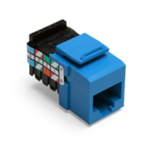 Leviton 41108-RL3 Jack Cat 3 8p8c Blue
