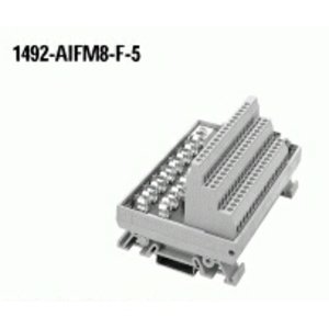 Allen-Bradley 1492-AIFM8-F-5 Wiring Module, Fusible, 5 Term. Per 8 Channel,  Blown Fuse Ind.