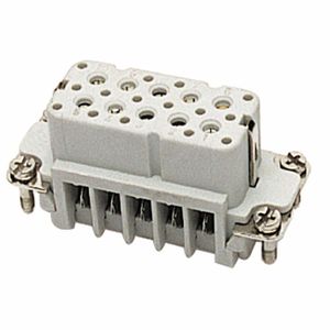 Thomas & Betts FS110A Female Screw Terminal Insert, A-Series, 10 Contacts with Ground