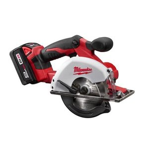 Milwaukee 2682-22 M18 Cordless Metal Saw Kit, Lithium-ion, 5-3/8""
