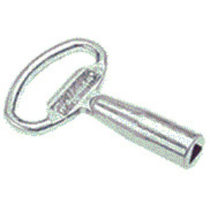 Hoffman AL35Y Latch Kit Key, 7mm, Steel/Zinc