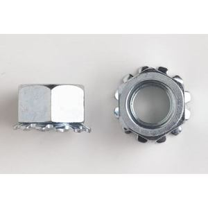 Harrison & Bonini Fastening Hardware KNS-1032 Kep Nut, Stainless Steel, 10-32