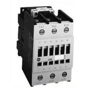 GE CL01A310TU Contactor, IEC, 13.8A, 460V, 3P, 480VAC Coil, 1NO Auxiliary
