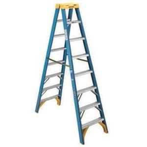 Werner Ladder T6008 Fiberglass Twin Stepladders