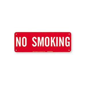 Brady 42687 No Smoking Sign