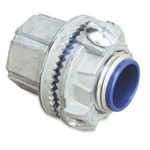 "Thomas & Betts H150GR-TB Grounding Hub, 1-1/2"", Insulated, Sealing Ring, Zinc"