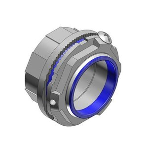 "Thomas & Betts H075GR-TB Grounding Hub, 3/4"", Insulated, Sealing Ring, Zinc"