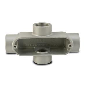 "Appleton X50A Conduit Body, Type: LB, Form 35, Size: 1/2"", Malleable Iron"