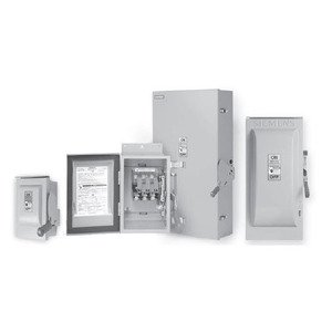 Siemens HNF361S Safety Switch, Non-Fused, 30A, 600VAC, 600VDC, 3P, NEMA 4/4X