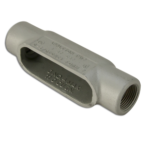 "Appleton C17SA Conduit Body, Type: C, Size: 1/2"", Form 7, Aluminum"