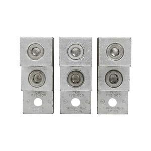 Eaton/Bussmann Series LUG5-3 Terminal Lug Kit for Disconnect Switch, 3 Lugs, 2 AWG - 600 kcmil