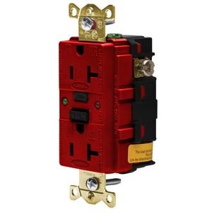 Hubbell-Wiring Kellems GFR5362SGR 20A/125V INDL.