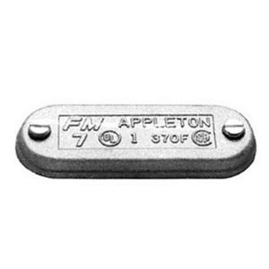 "Appleton 570FSA Conduit Body Cover, 1-1/2"", Form 7, Aluminum"