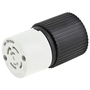 Hubbell-Kellems L1430C Locking Connector, 30A, 125/250V