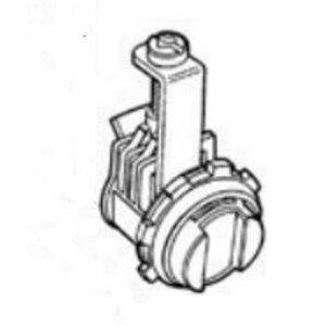 "Thomas & Betts XC-2200-C AC/MC Connector, Saddle Type, 3/8"", Zinc Die Cast"