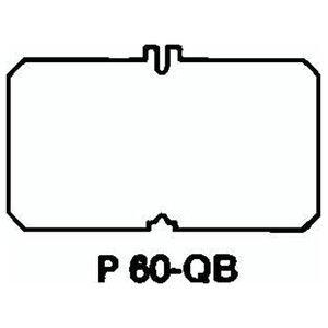 Steel City P-60-QB 663 Blank Plate