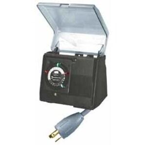 Intermatic P1131 Plug-In Timer, Built-In Enclosure