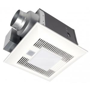 Panasonic FV-08VQCL6 Humidity Sensing Fan/Light, 80 CFM