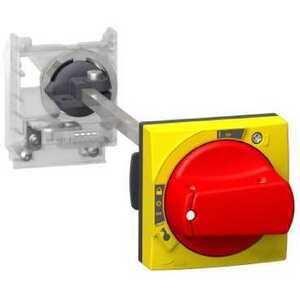 Square D GV2APN04 Starter, Manual, Operating Mechanism, Door, Red/Yellow Handle