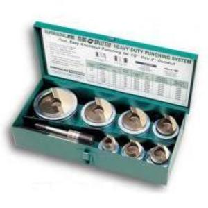 "Greenlee 7307 Punch Kit, 1/2 - 2"""