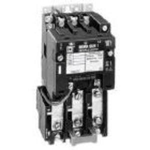 Square D 8536SCO3V02S Starter, Size 1, 27A, 600VAC, 120VAC Coil, Non-Reversing, 3P, Open