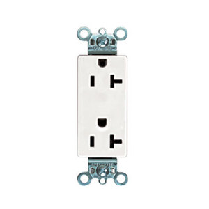 Panduit ERU20IW-X 20 AMP Rectangular Outlet