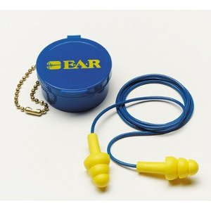 3M 340-4002-BOX Ear Plugs, Corded & Cased