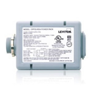 Leviton OPP20-D1 Power Pack, 20A, 120-277VAC, 24VDC