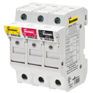 Eaton/Bussmann Series PWR35MM Fuse Holder, Power Feed Terminal, 35mm, 3PH, 1000VAC/DC, 115A