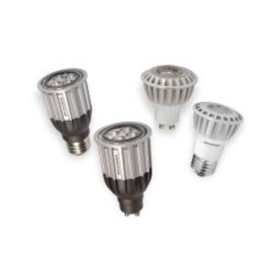 SYLVANIA LED7PAR16/DIM/GU10/830/FL36 LED Lamp, Dimmable, PAR16, 7W, 120V, FL36