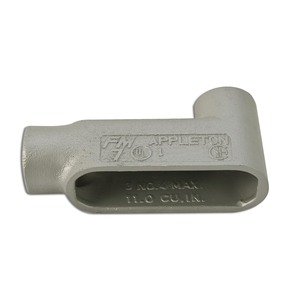 "Appleton LB57SA Conduit Body, Type: LB, Size: 1-1/2"", Form 7, Aluminum"