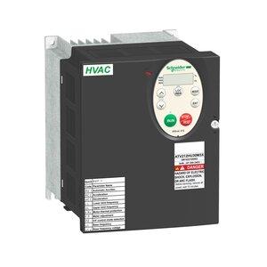 Square D ATV212HU40M3X AC Drive, Altivar, 16.7A, 5HP, IP20, Size 2A, 208-240VAC, 4kW