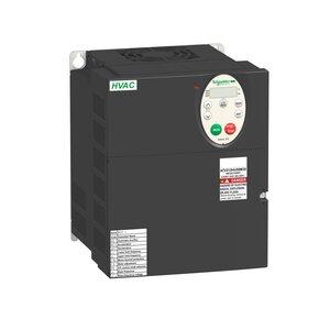 Square D ATV212HU75M3X AC Drive, Altivar,32A, 10HP, IP20, Size 3A, 208-240VAC, 7.5kW
