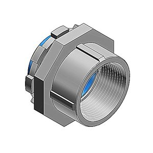 "Thomas & Betts 403-TB Conduit Hub, Size: 1"", Insulated, Steel"