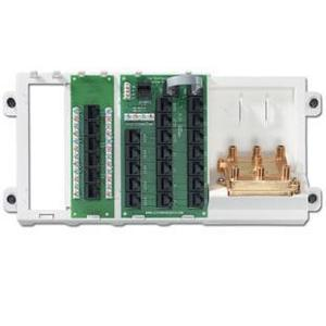 Leviton 47606-AHT Cabling Panel, 19 Line Telephone, 12 Remote Locations, 6-Way Video