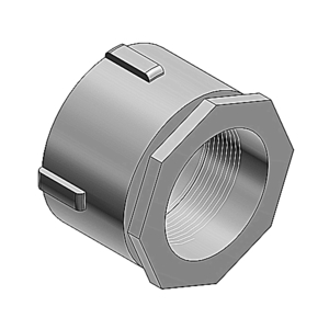 "Thomas & Betts 683AL Conduit Coupling, 3-1/2"", Aluminum"