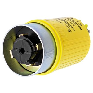 Hubbell-Kellems HBL26419 Locking Plug, Non-NEMA, 60A, 600V, 3P4W