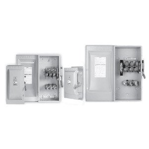 Siemens HF322NR Safety Switch, Fused, Type 3R, 3P, 60A, 240VAC, HD