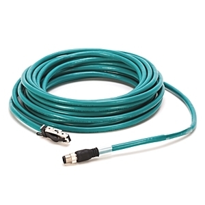 Allen-Bradley 1585D-M4HBJM-10 Cable, Ethernet Connectivity, RJ45 to Male Straight, 10m, IP20 to IP67