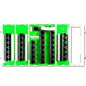 Leviton 47603-18P 18 Port Structured Media Cabling Panel