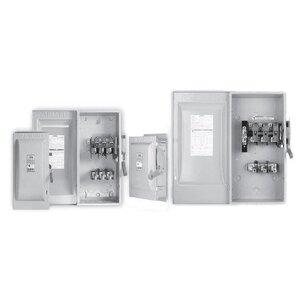 Siemens HF221NR Safety Switch, Fused, Type 3R, 2P, 30A, 240VAC, HD