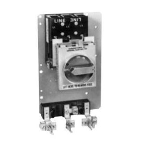 GE THMR3161 Disconnect Switch, Rotary, 3P, 600VAC, 30A, QMR, Lugs, Fuse Clips