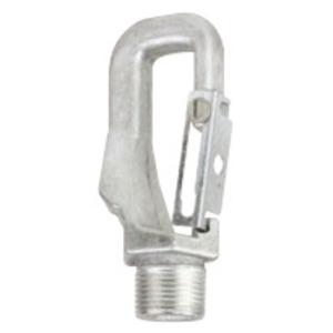 "Hubbell-Killark HOOK/LOOP Fixture Hanger, Type: Pendant, 3/4"" Male Thread, Aluminum"