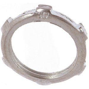 "Thomas & Betts LN-102 Conduit Locknut, 3/4"", Steel"