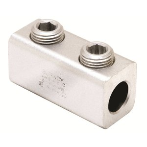 Burndy AMS350 Mechanical Splicer/Reducer, Aluminum, 6 AWG to 350 MCM