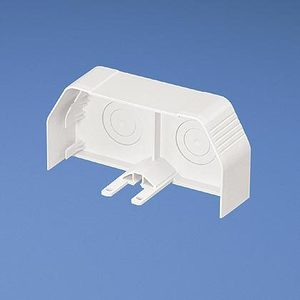 Panduit TGECIW End Cap Fitting / TG-70 Series Raceway, Off-White