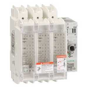 Square D GS2JU3N Disconnect Switch, Fusible, 100A, 3P, 600VAC, 250VDC, Panel Mount